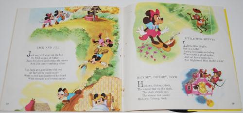 Disney mother goose rhymes vinyl record 3