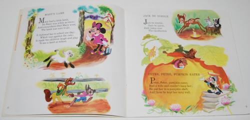 Disney book & cassette mother goose 2
