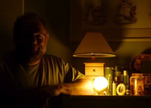 Mr dad moon lamp