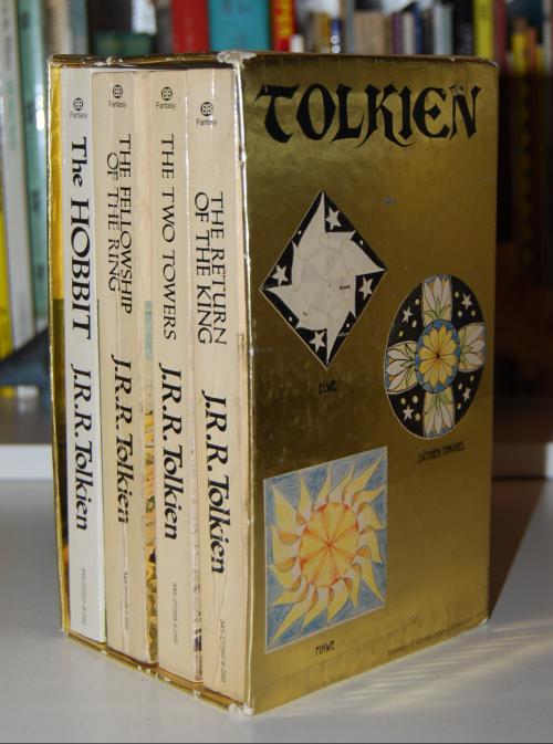 Tolkien paperback book set