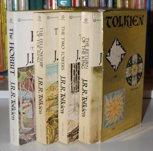 Tolkien paperback book set 4
