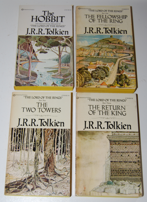 Tolkien paperback book set 2