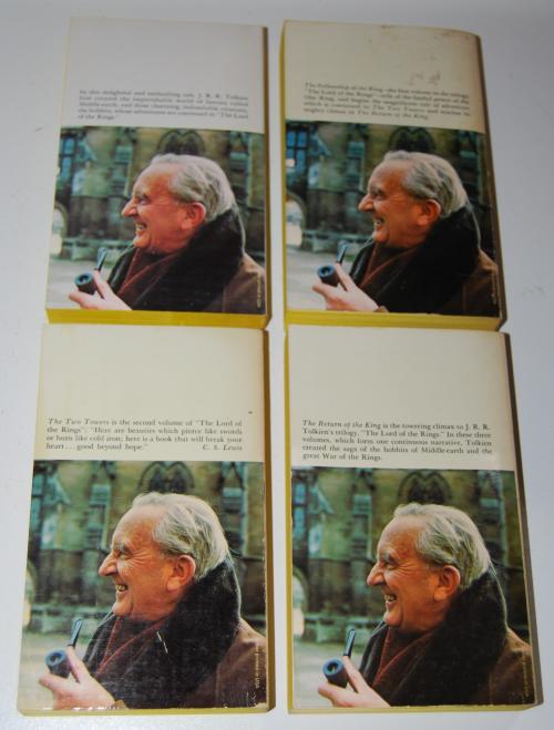 Tolkien paperback book set 3