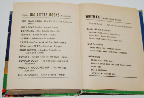 The invaders 1967 big little whitman book 14