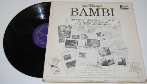 Disney bambi vinyl x
