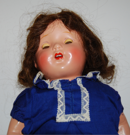 Vintage composition doll 5