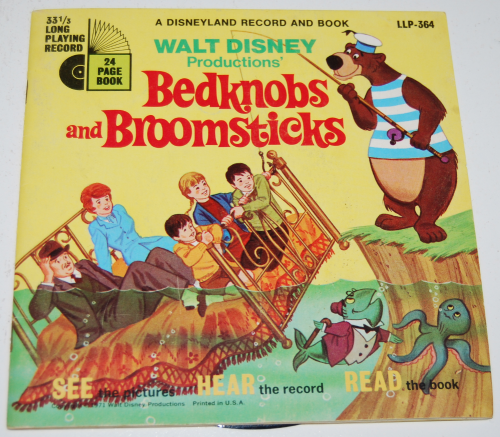 Disney bedknobs & broomsticks vinyl record