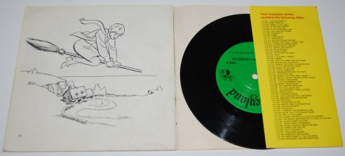 Disney bedknobs & broomsticks vinyl record x