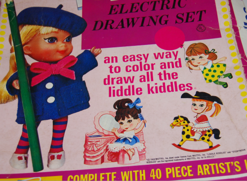 Lakeside liddle kiddles electric drawing set 1