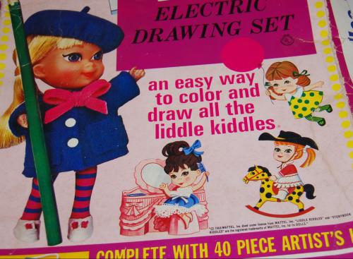 Lakeside liddle kiddles electric drawing set 1