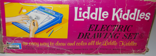 Lakeside liddle kiddles electric drawing set