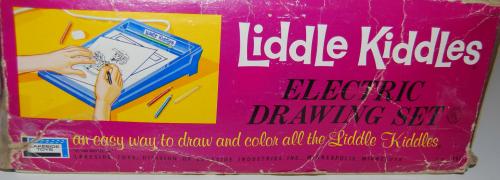 Lakeside liddle kiddles electric drawing set