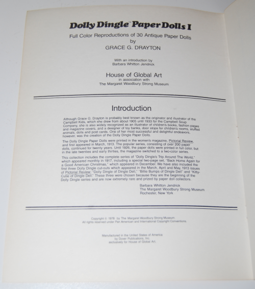 Dolly dingle paperdolls 1