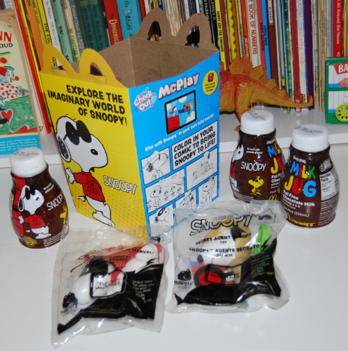 World of snoopy happy meal prizes