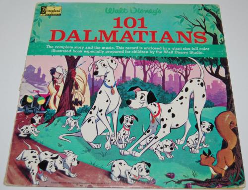 Disney 101 dalmatians vinyl