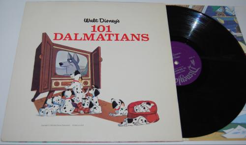 Disney 101 dalmatians vinyl 2