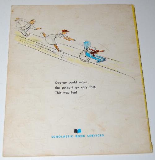 Curious george books x