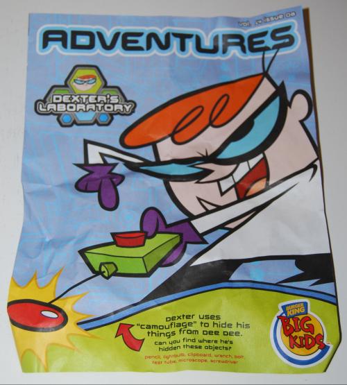 Dexter's lab bk toys