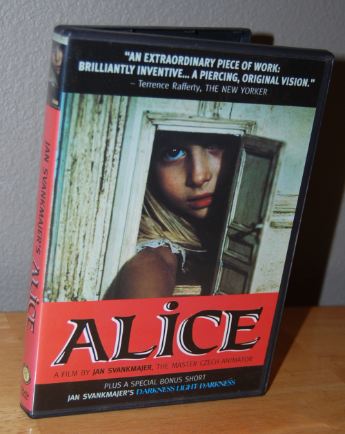 Jan svankmajer alice dvd