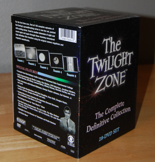 Twilight zone boxset dvds x