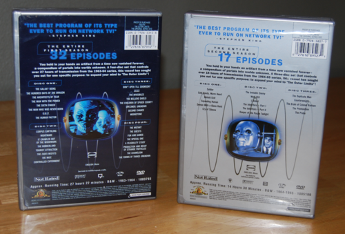 Outer limits dvds x