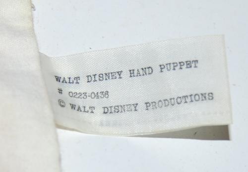 Vintage donald duck puppet x