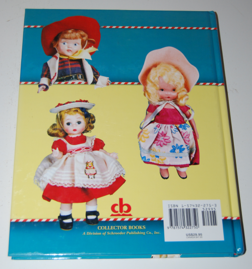Small dolls of the 40s & 50s id book x
