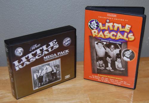 Little rascals dvds x