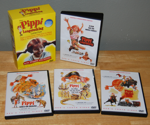 Pippi longstockings dvds