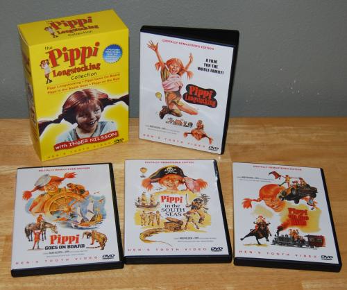 Pippi longstockings dvds