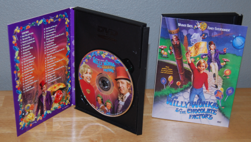Willy wonka dvd x