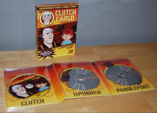 Clutch cargo dvd