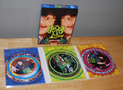 The weird al show dvds