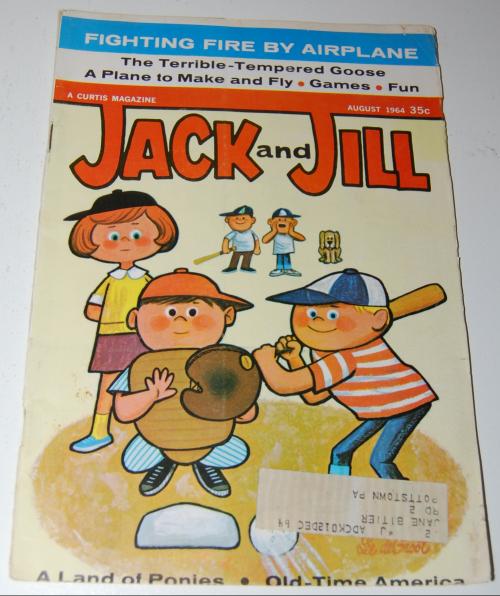 Jack & jill magazine august 1964
