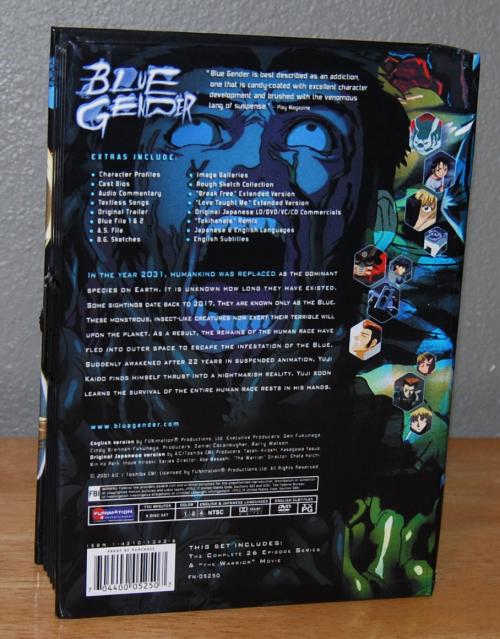 Blue gender dvd
