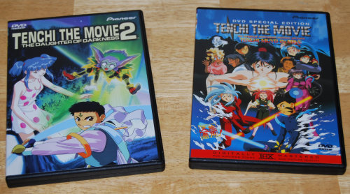 Tenchi dvds