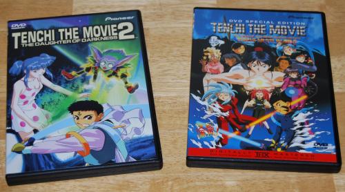 Tenchi dvds