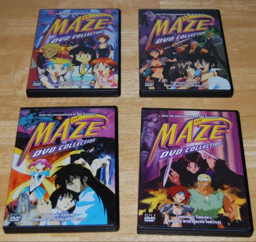 Maze dvd