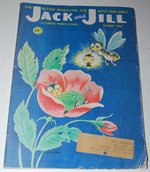 Jack & jill magazine august 1959