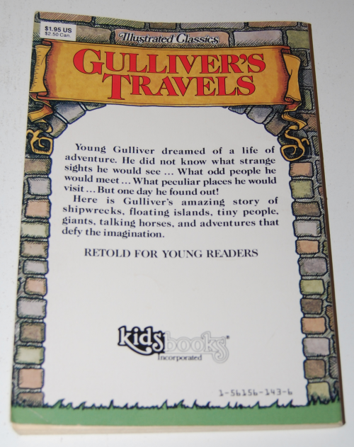 Gulliveer's travels illustrated classics x