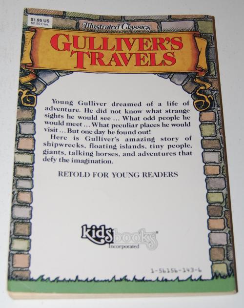 Gulliveer's travels illustrated classics x