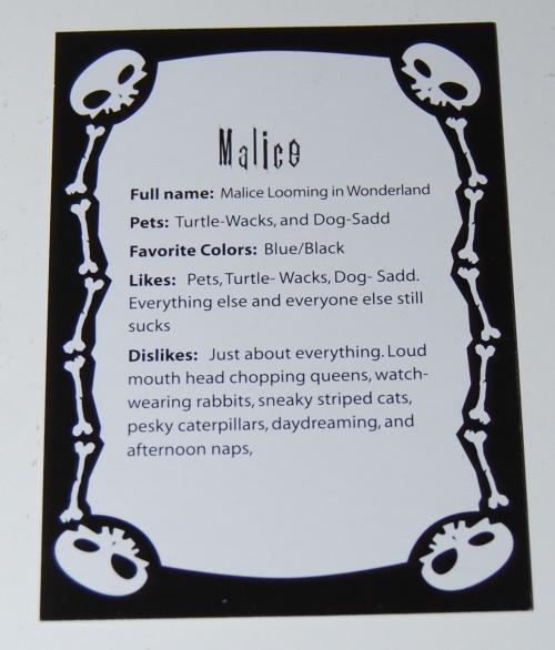Malice card x