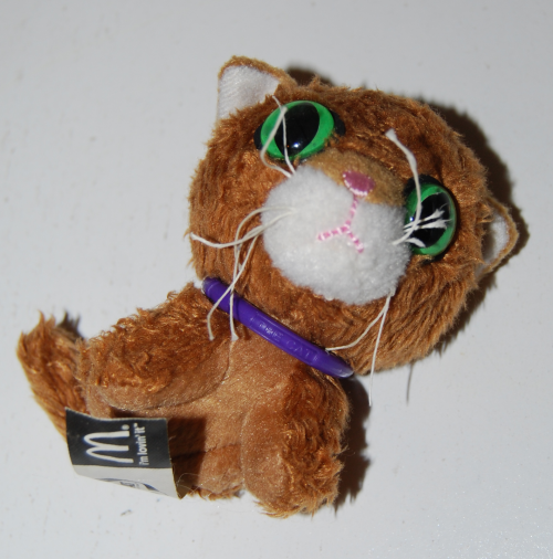 Cat happy meal toy 2005