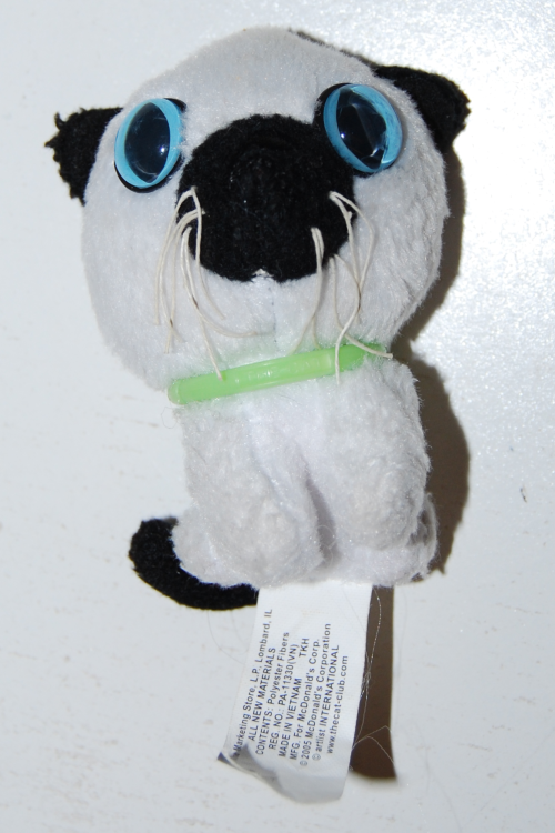 Cat happy meal toy 2005 4