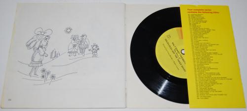 Disney goldilocks vinyl record x