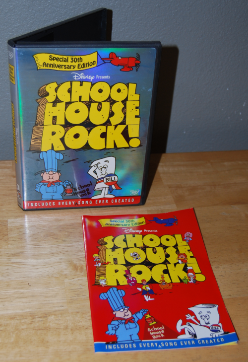 Schoolhouse rocks dvd