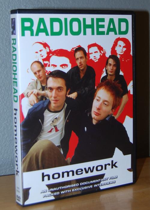 Radiohead homework dvd