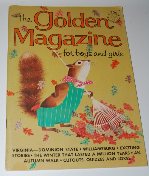 Golden magazine september 1964