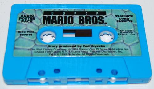 Cassettes super mario bros