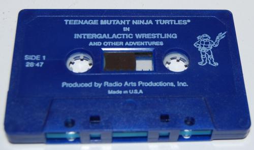 Cassettes tmnt